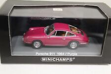 Minichamps Porsche 911 F-Modell 1964 Purple 1:43 NEU Limited Abonnement Edition