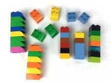 Lego Duplo Lot of 38 Pieces Blocks Different Colors & Sizes Bricks Building Toys