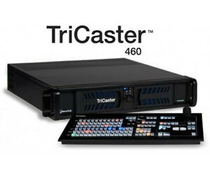 NewTek TriCaster 460 With Control Surface