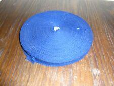 (0,20€/m) ultramarin blaues Band/Borte 1,5cm breit 60m auf einer Rolle OPEW