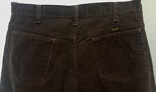 Vintage Blue Bell Wrangler brown corduroy pants original size 36