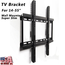"Universal Steel LED LCD TV Wall Mount Bracket Stand 14-55"" for Samsung Sony LG"