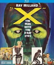 X: The Man With the X-Ray Eyes [New Blu-ray]