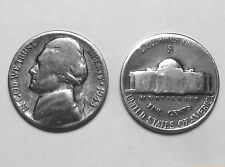 1943-S JEFFERSON SILVER WAR NICKEL GOOD COIN 35% SILVER San Francisco Mint