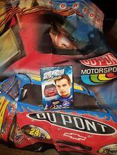 """Brand New ~ NASCAR Jeff Gordon Fan Kit Lot - 24 x 24 Wide Open DVD & Flag 28x36"""""""