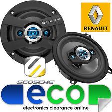 """Renault Clio Door Speaker Upgrade 98 - 05 MK2 SCOSCHE 5.25"""" 13cm 320 watts"""