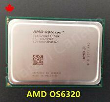 AMD Opteron OS6320 OS6320WKT8GHK Eight 8-Core 2.8GHz Socket G34 CPU Processor