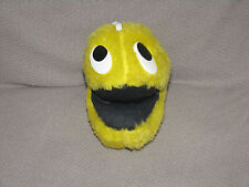 VINTAGE THE RUSHTON COMPANY STUFFED PLUSH SMILEY FACE PACMAN PAC MAN BEAN TOY