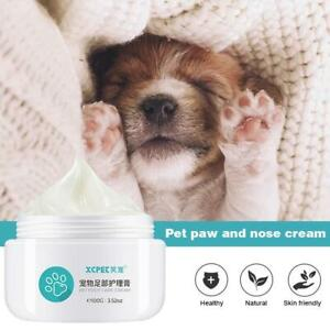 Pet Paw Care Cream Soother Dry Cracked Irritated Natural Ingredients NEW 100g