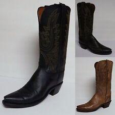 LUCCHESE Women's Mad Dog Capra Pelle Cowgirl Western boots N4554 N4559 N4540