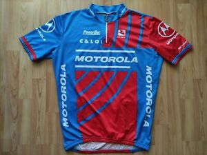 Motorola Team Short Sleeve Cycling Jersey, Giordana , Lance Armstrong Size:XL