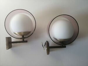 Wall Stilux Milan Space Age Lamps Saturn 1960 Lamp Wall x2 Design