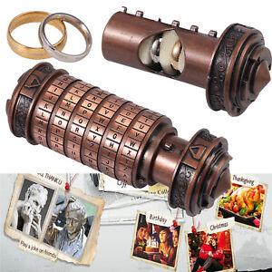 Da Vinci Code Lock Mini Cryptex Lock, Revomaze Creative Romantic Birthday Gifts