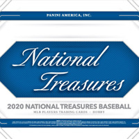 2020 Panini National Treasures Baseball 1 Box Random Team