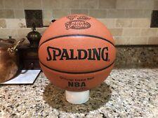 Official Spalding Chicago Bulls NBA Finals Game Ball Leather Basketball M Jordan