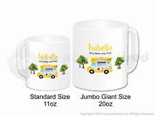 Personalised Gift Ice Cream Van Jumbo Mug Cone Scoop Driver Vendor Present #4