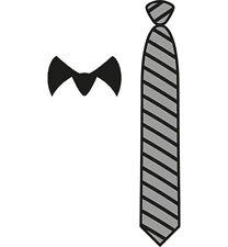 Stanz- Prägeschablone - Krawatte + Kragen  von Marianne Design (CR1292)