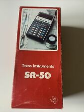Calculatrice Texas Instrments SR-50 Calculatrice Vintage