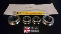CBR600RR  2007- 2018 Captive wheel Spacers. Silver