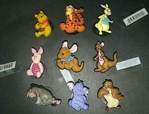 Disney Jibbitz Pooh, Piglet, Eeyore, Owl, Kanga, Roo, Lumpy or Rabbit NWOT