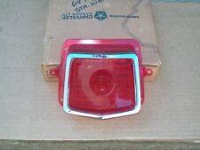 1964 64 Plymouth Fury Belvedere Savoy Wagon NOS MoPar TAIL LAMP LENS & BEZEL