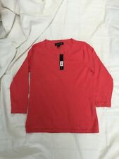 August Silk Womens Top Med NWT