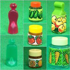 Playmobil Dosen Flaschen Tuben für Puppenhaus Lebensmittel Market #5.422
