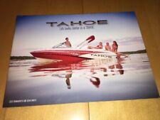 2013 Tahoe Runabouts Deck Boats Catalog Brochure Q4 SF Q5i Q5 Q7i Q7 195 215xi