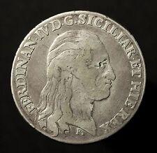 KGR. Napoli e Sicilia, Ferdinando IV. di Bourbon, scudi a 120 grana 1796