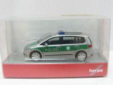 HERPA 092104 VW Touran Polizei OVP 1:87 (MW 7284)
