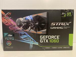 ASUS ROG STRIX GeForce GTX 1060 6GB VR Ready Gaming Graphics Card
