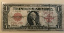1923 $1 one dollar United States Note red seal