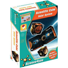 Science4You Solar System Cube - Children's Planets Science Fact Toy