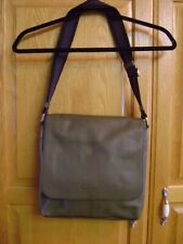 Coach Mens Sullivan Messenger Bag Saddle Leather Crossbody F72108 Olive Green