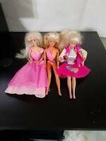 3 Barbies - Princess / Barbie and The Sensations / Wet n Wild
