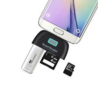 For Galaxy S6 S6 Edge S5 Note 4/3/2 Card Reader Micro USB Adapter Charging port