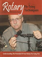 BEATTY FLYFISHING BOOK ROTARY FLY TYING TECHNIQUES ROTARY VICE paperback BARGAIN