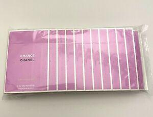 Chanel CHANCE EAU FRAICHE EDT 1.5 ml x 12 pcs (18 ML) SEALED PACK VIP GIFT