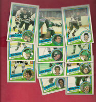 1984-85 TOPPS HARTFORD WHALERS  CARD LOT