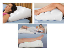 INFLATABLE WEDGE PILLOW Back Support Reflux Relief Help Stop Snoring Leg Rest