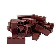 20 NEW LEGO Brick 1 x 4 BRICKS Reddish Brown