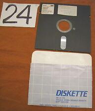 Floppy disc 5.25 inch 5 1/4 Commodore 64 Diskette 2D 48 TPI giochi floppy n. 7