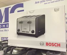 Bosch TAT6A643GB Stainless Steel 4 Slice Toaster - 2 Year Guarantee - BRAND NEW