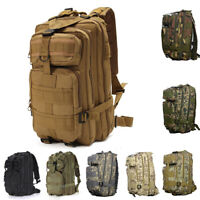 NEW Large Outdoor Hiking Rucksack Bag Travel Climbing Camping Military Backpack