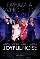 JOYFUL NOISE MOVIE POSTER DS 27x40 DOLLY PARTON QUEEN LATIFAH