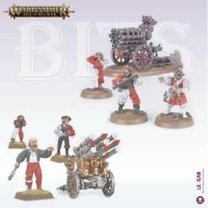 Bits Free Peoples Empire Volley Gun Rocket Battery Warhammer AoS Bitz