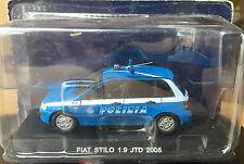 "DIE CAST "" FIAT STILO 1.9 JTD - 2005 "" POLIZIA SCALA 1/43"