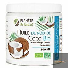 Huile de Coco Bio - 500 ml - Vierge, Pure et Biologique