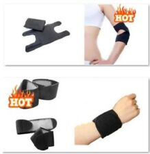 Magnetic Therapy Self Heating Elbow + Wrist Support Value Pack (BCMTC168EW)