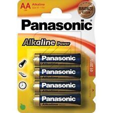 Blister 4 AA Alkalina Panasonic R-6